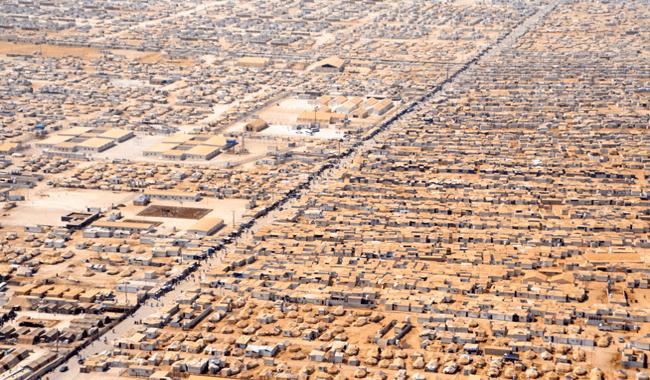 Za'atri-Refugee-Camp, JordanZa'atri-Refugee-Camp, Jordan