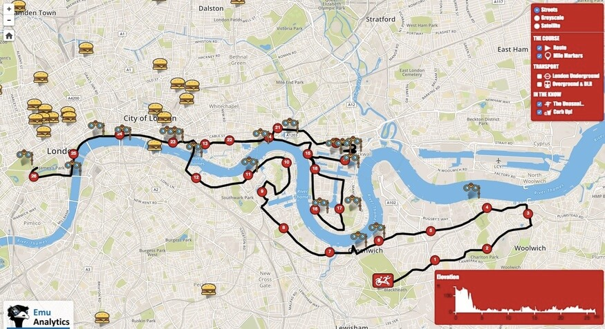 london-marathon-map